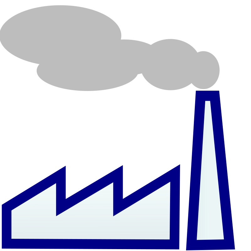 Factory at getdrawings com. Factories clipart co2 emission