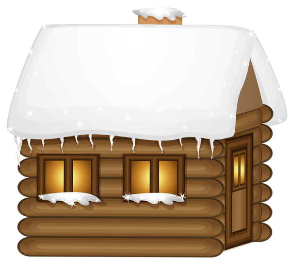 Wooden house png clip. Winter clipart playground