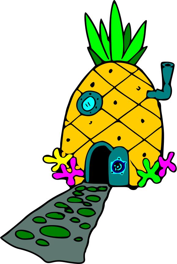 Houses clipart spongebob's. Ghetto spongebob clip art