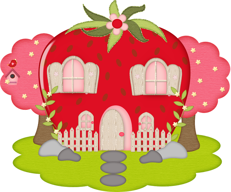 Houses strawberry