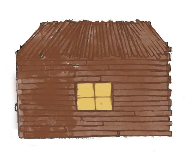 Houses clipart three little pig. Stickhouse png
