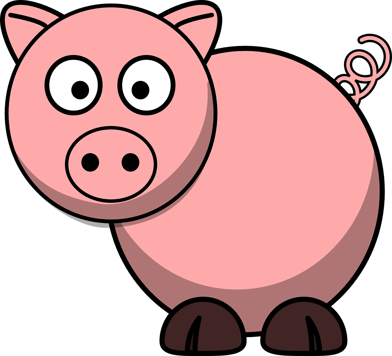 Race clipart pig. Three little pigs time