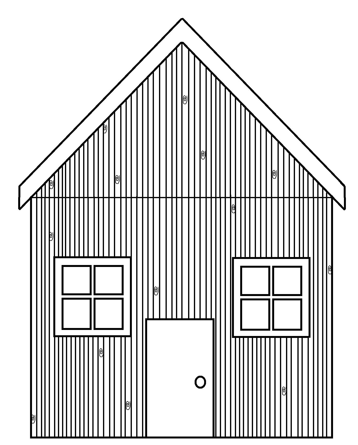 Houses three little pig