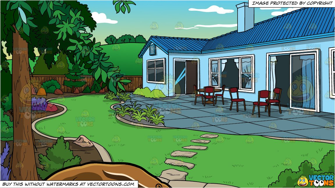 Clipart house yard. An anteater and a