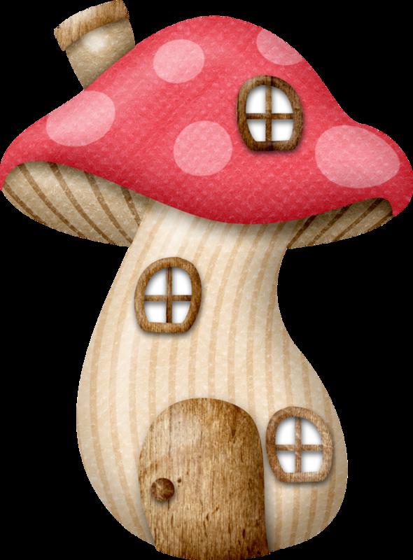 Mushrooms clipart enchanted forest. Lliella pixieland mushroomhouse png