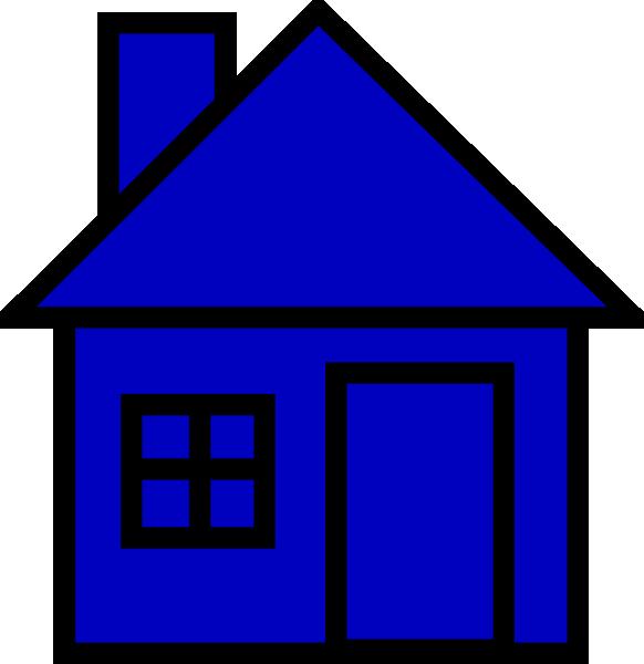 Houses blue
