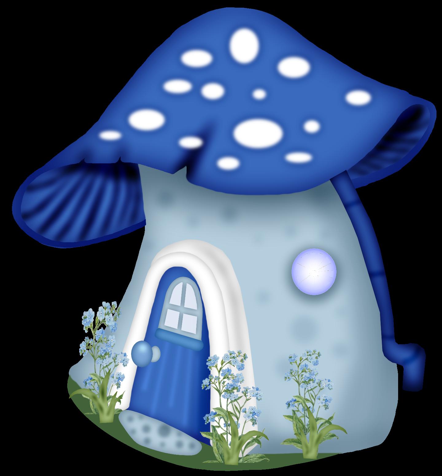 a c orig. Mushrooms clipart scenery