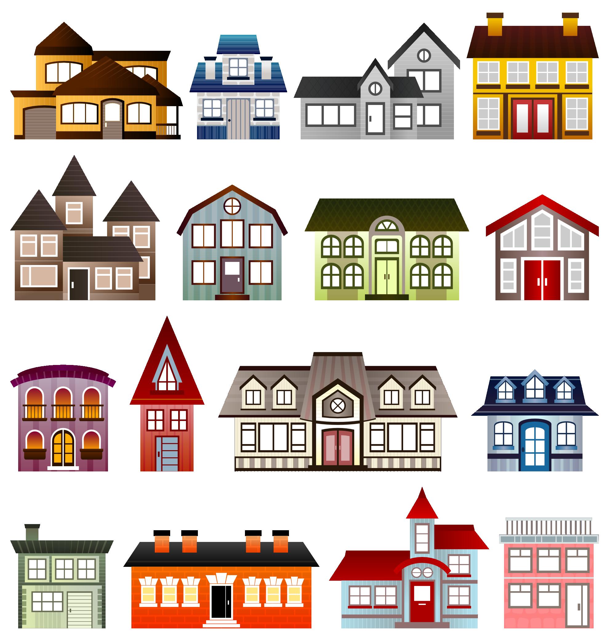 Houses clipart easter. Clipartist net clip art