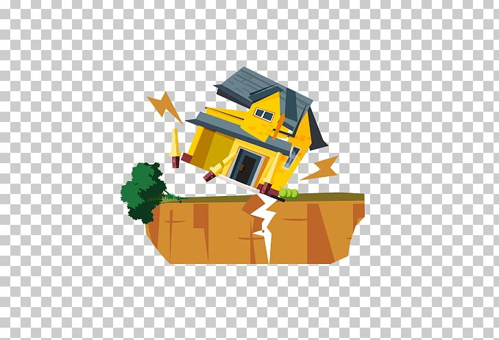 Clipart houses collapse. Earthquake png adobe illustrator
