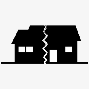 Hail damage house free. Clipart houses collapse