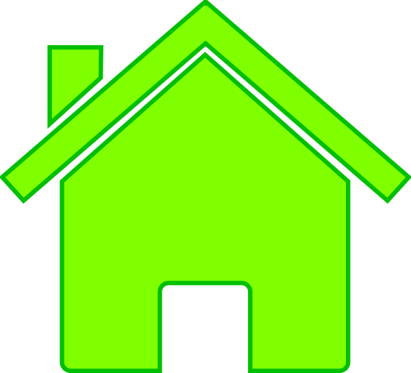 Houses clipart green. House photo
