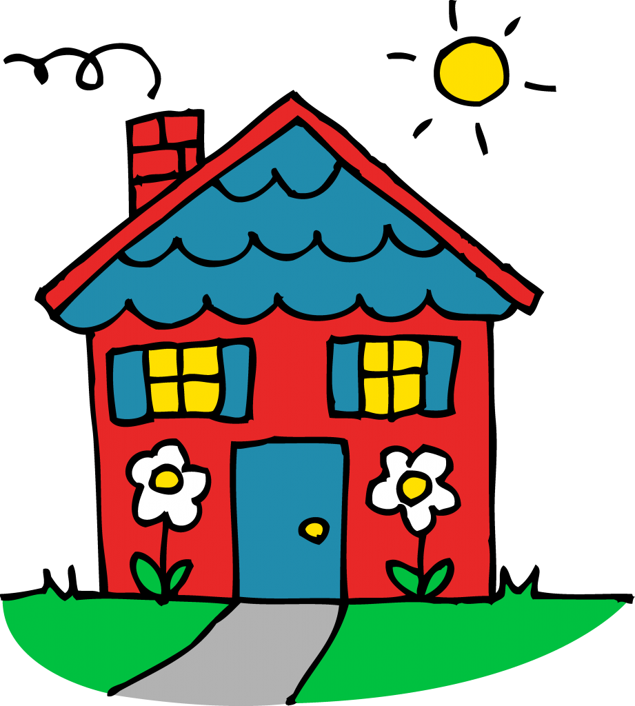 collection of cute. Home clipart safety