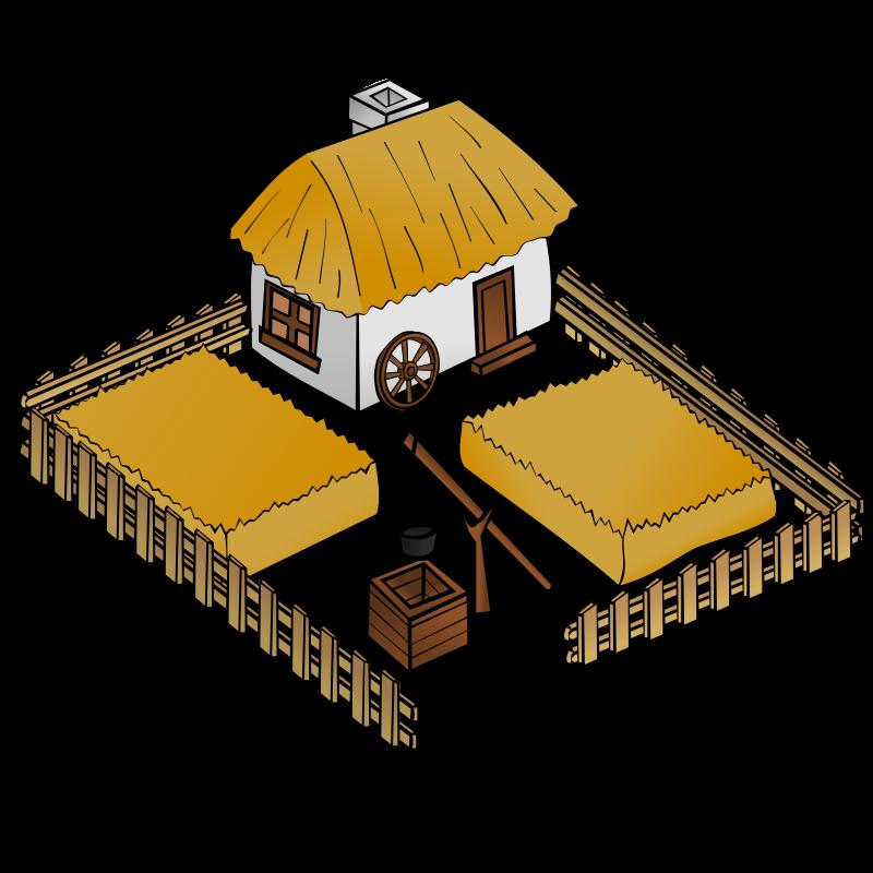 Cottage clipart medieval building. Rpg map symbols farm