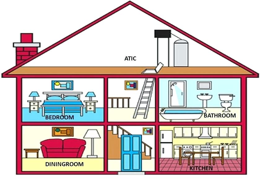 House image artsoznanie com. Clipart houses diagram