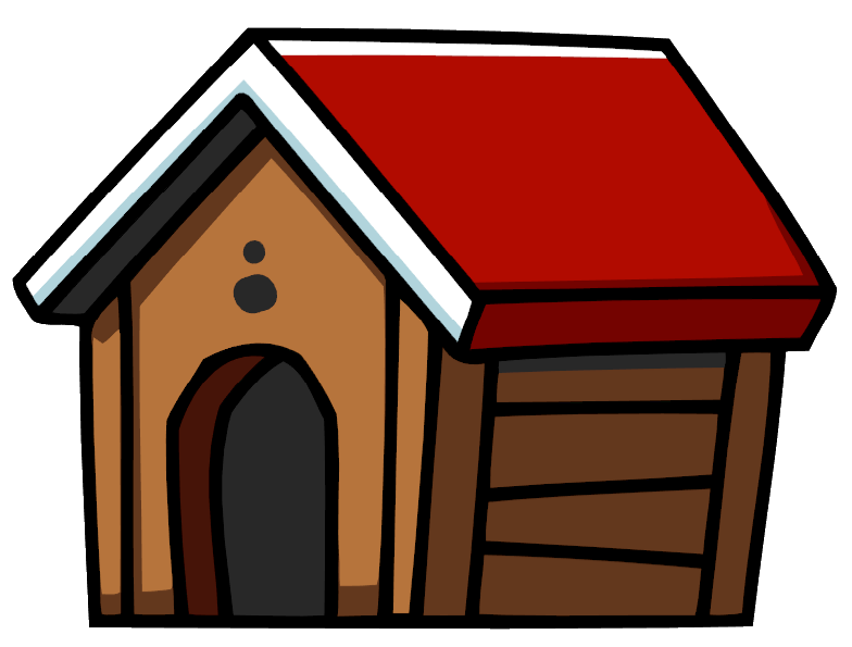 Free of dog houses. Pet clipart home pet