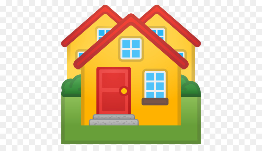 Icon house building transparent. Clipart houses emoji