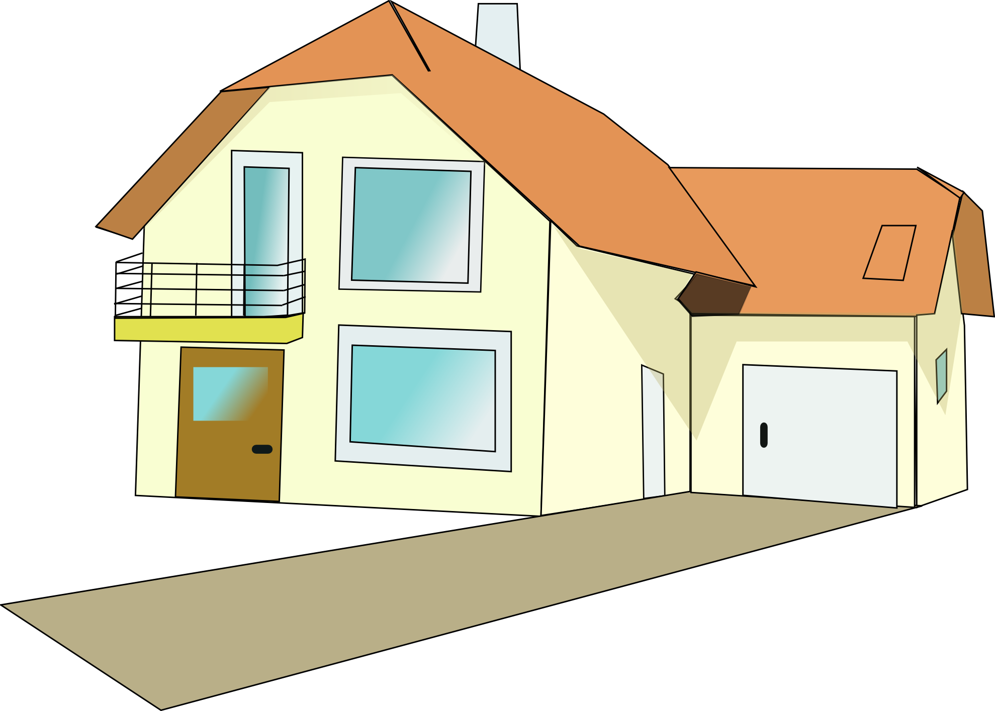 Floor clipart two story house. Clip art interior for