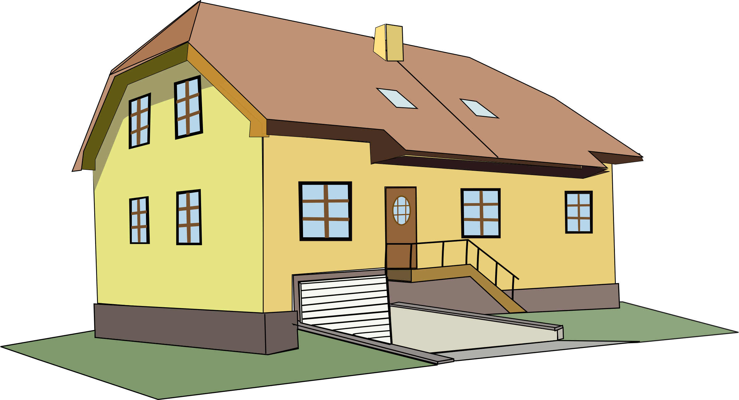 House icons png free. Clipart houses hall