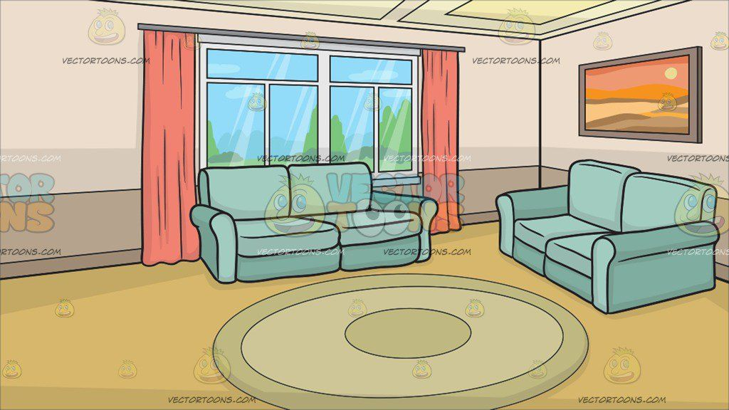 Clipart houses hall. A small living room