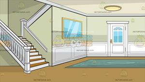 Clipart houses hall. A colonial house entrance