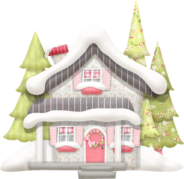 Clipart houses lights. Http luh happy minus