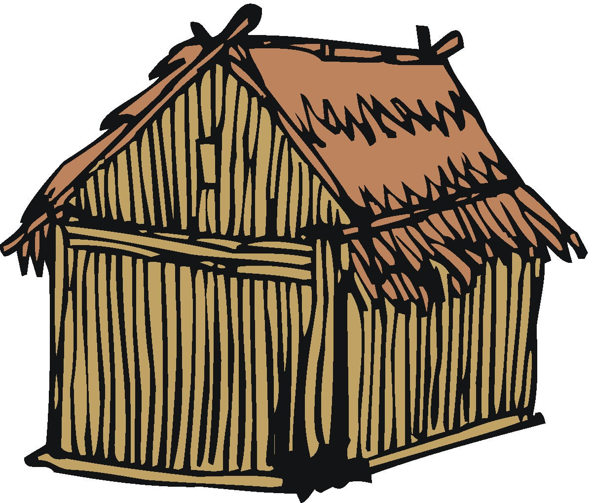Cottage clipart peasant house. Free cliparts download clip