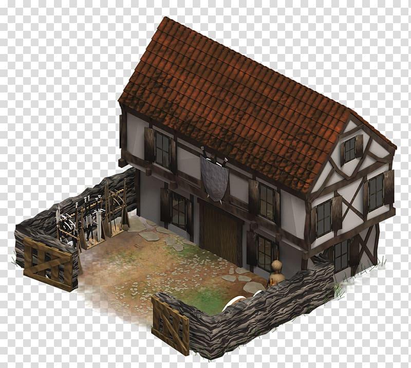 Barracks building middle ages. Cottage clipart medieval house
