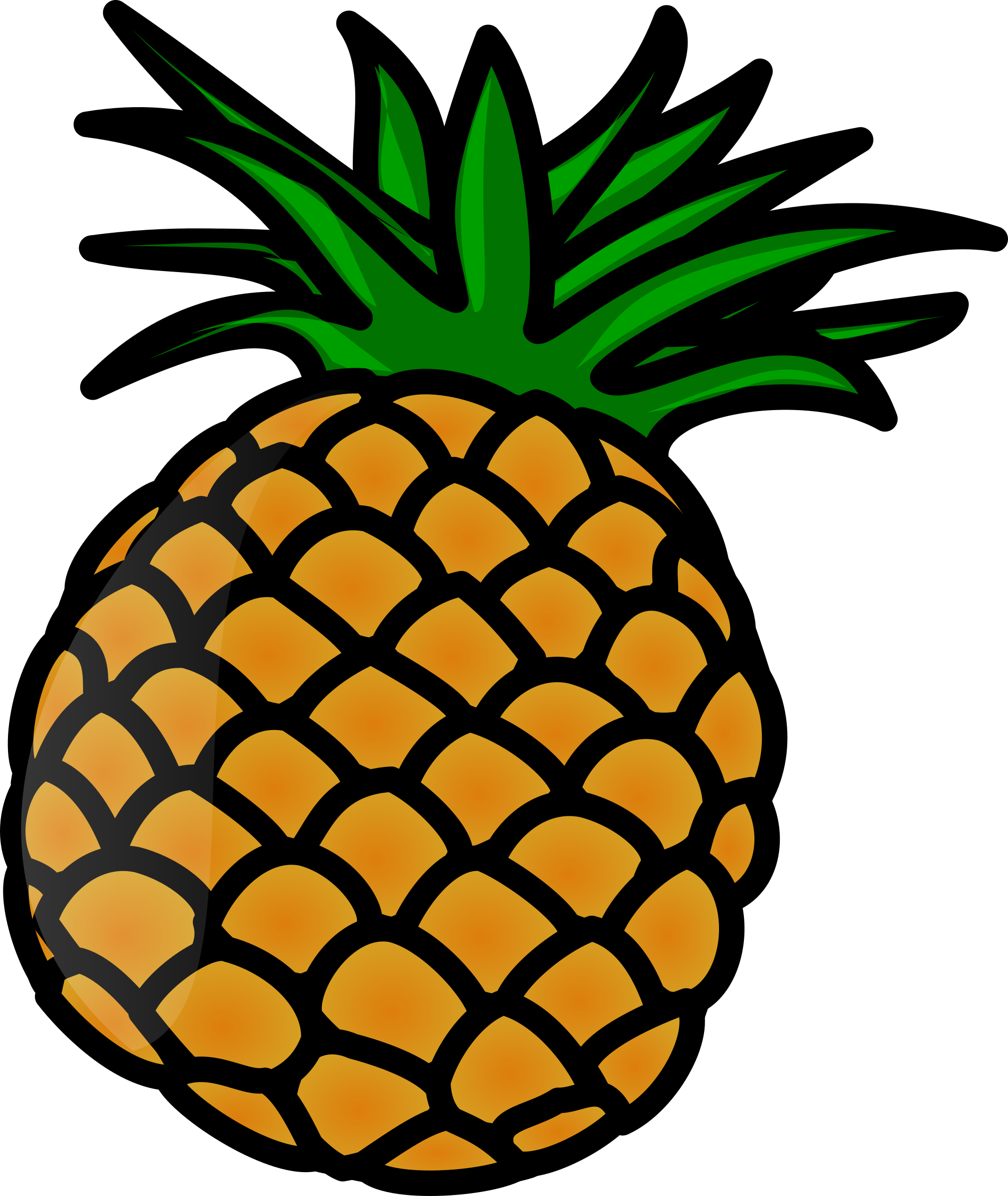 Icons png free and. Pineapple clipart pdf