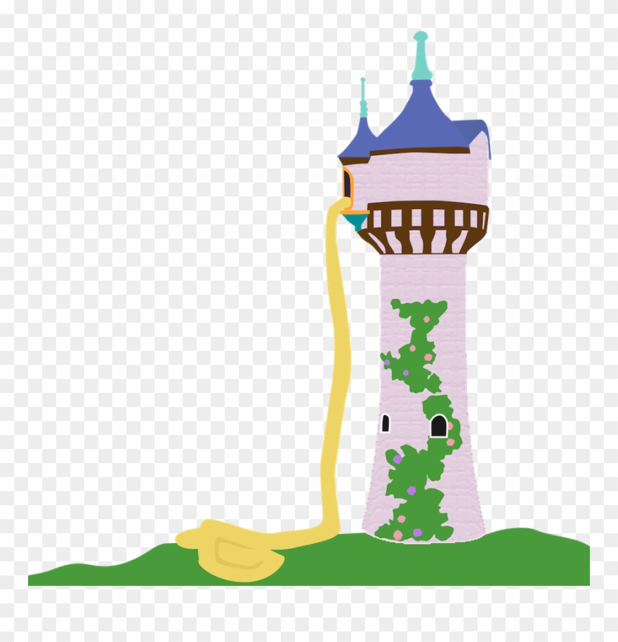 Disney princess tangled clip. Rapunzel clipart rapunzel tower
