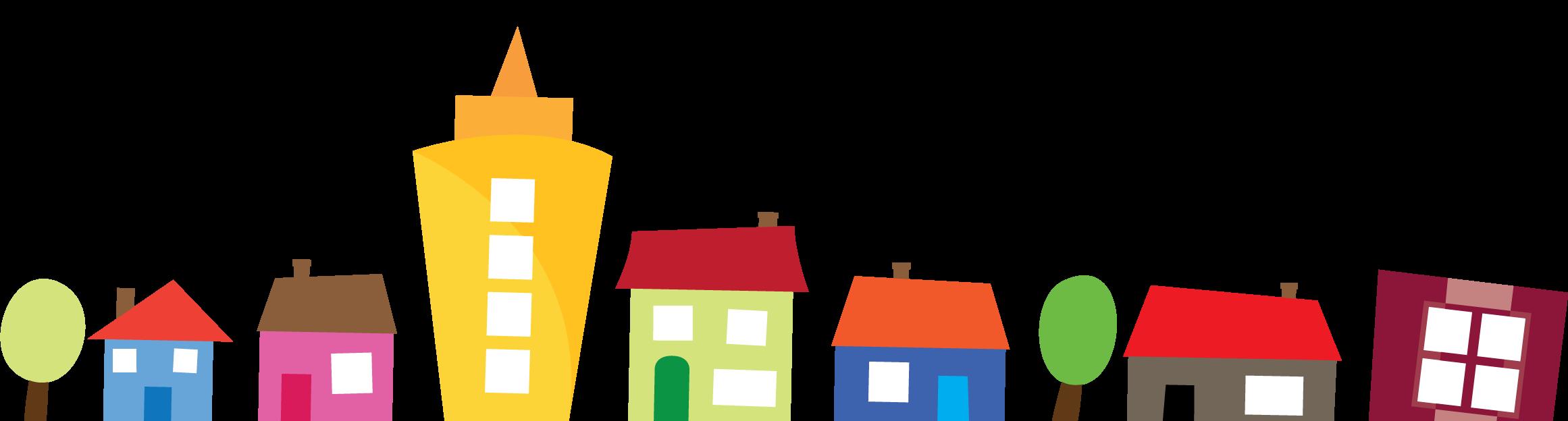 Neighbors clipart row house. Talk to your mpp