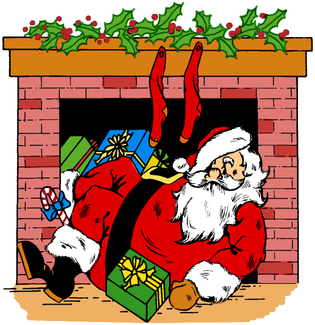Fireplace clipart old fashioned.  collection of santa