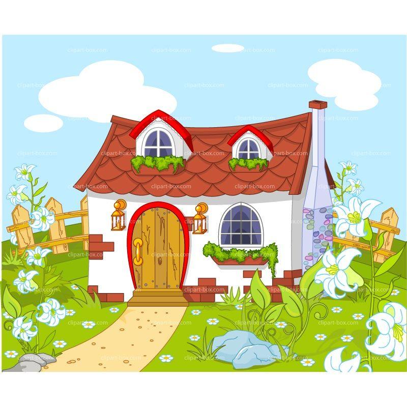 Houses clipart landscape. Cute house google search