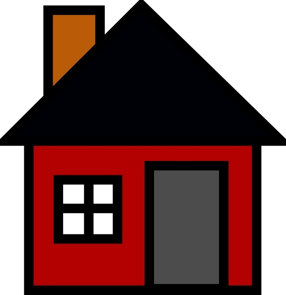 House clip art free. Houses clipart small
