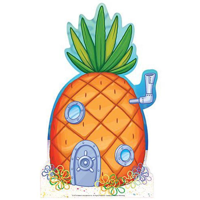 Pineapple house . Houses clipart spongebob's
