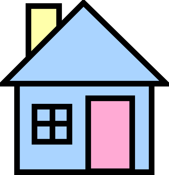 Clipart houses vector. House clip art at