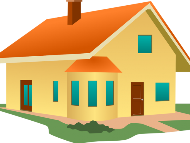 Leaving house cliparts free. Clipart rat home