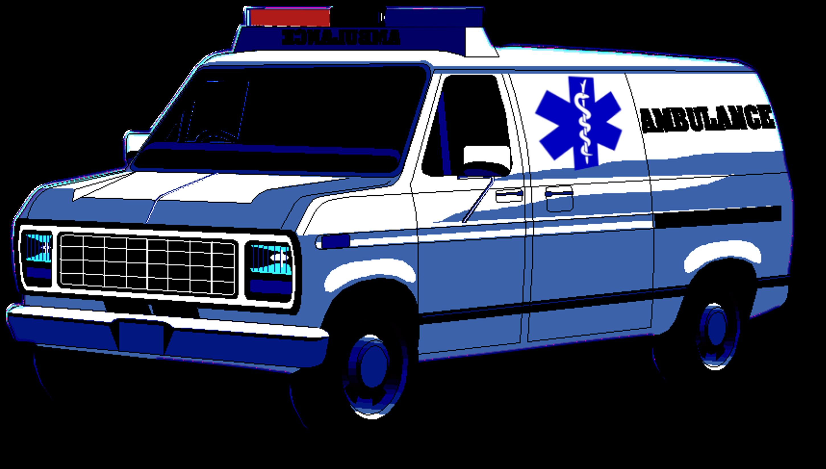 X ambulance free images. Land clipart cartoon
