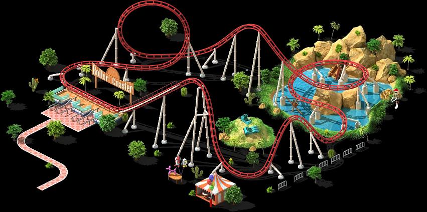 Fair clipart fun roller coaster. Amusement park png transparentpng