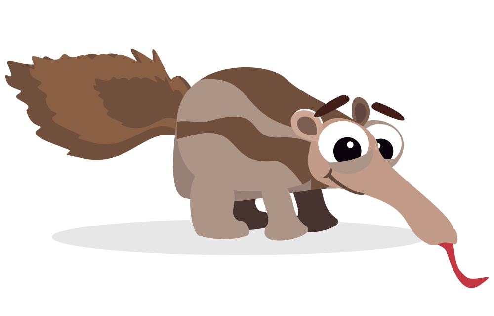 Hill clipart anthill. Anteater ant