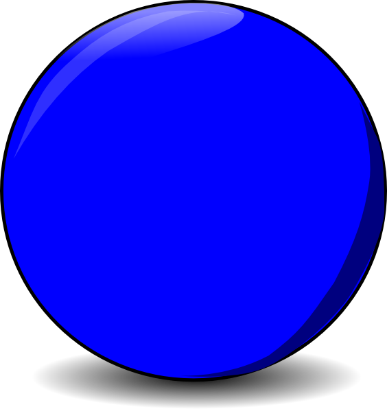 Clip art at clker. Marbles clipart 9 ball