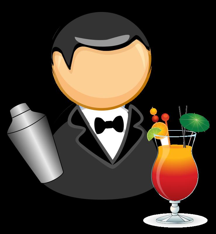 clipart images bartender