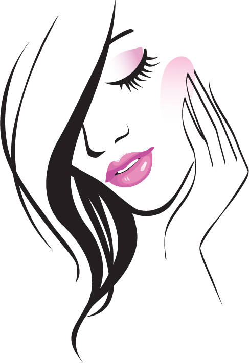 Beauty parlour free content. Cosmetology clipart beautiful woman