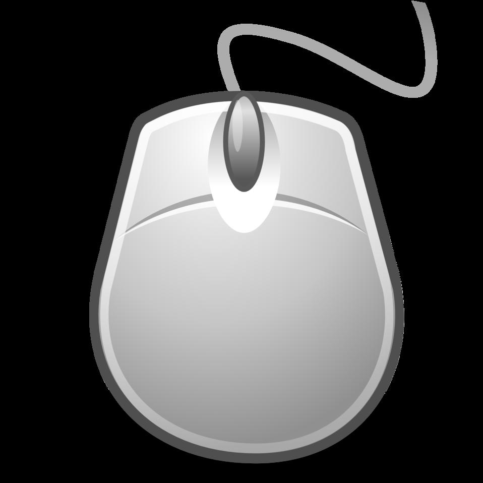 Mouse clipart gray mouse. Public domain clip art