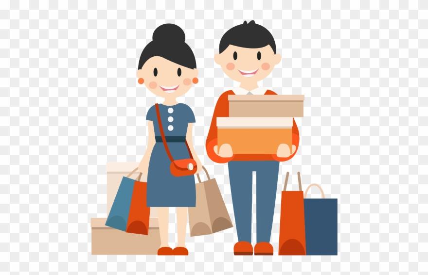 Shop clipart customer. Marketing target shopping men