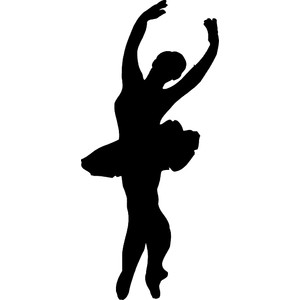 Dance clipart shadow. Free cliparts download clip