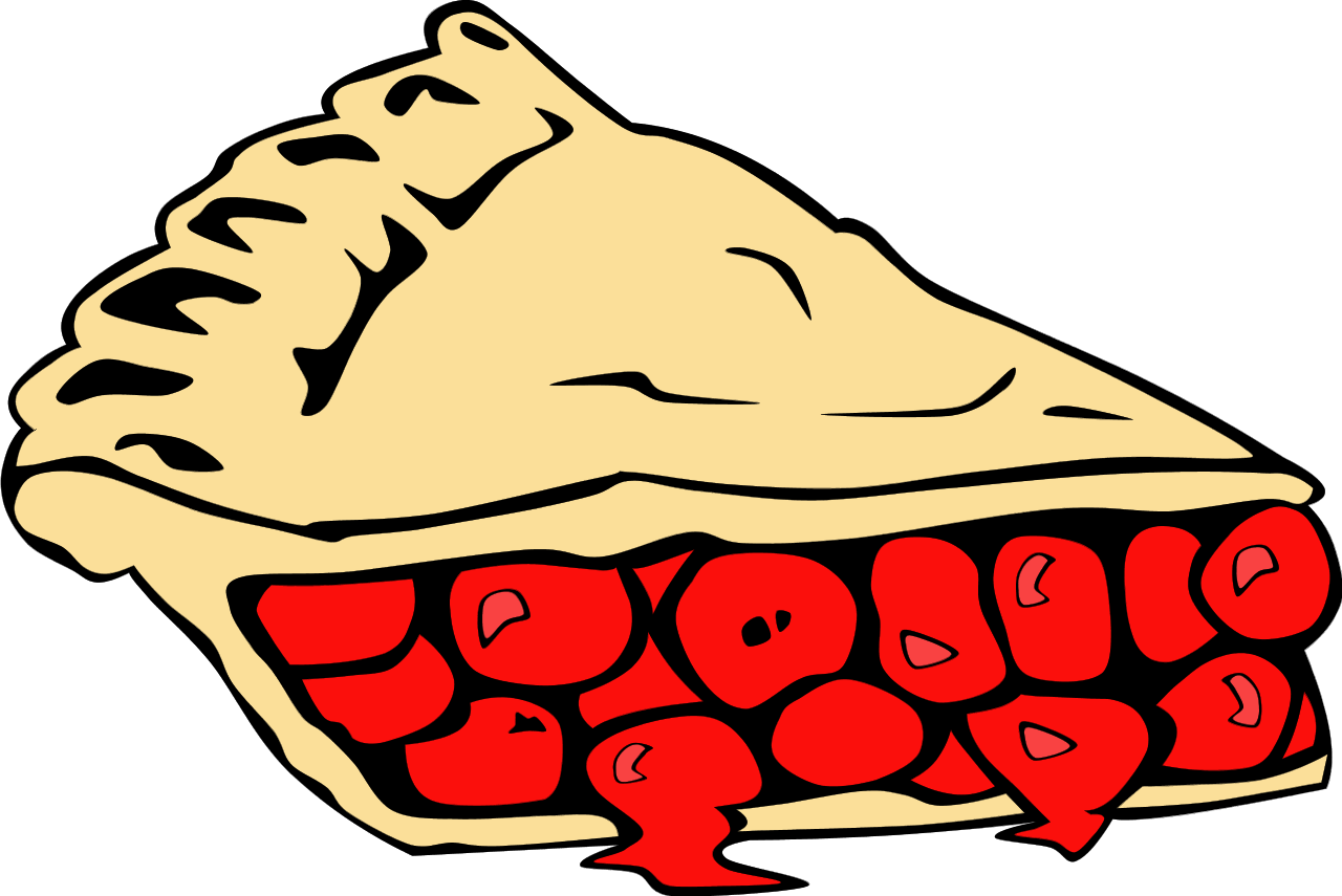 Dessert clip art pictures. Pie clipart border