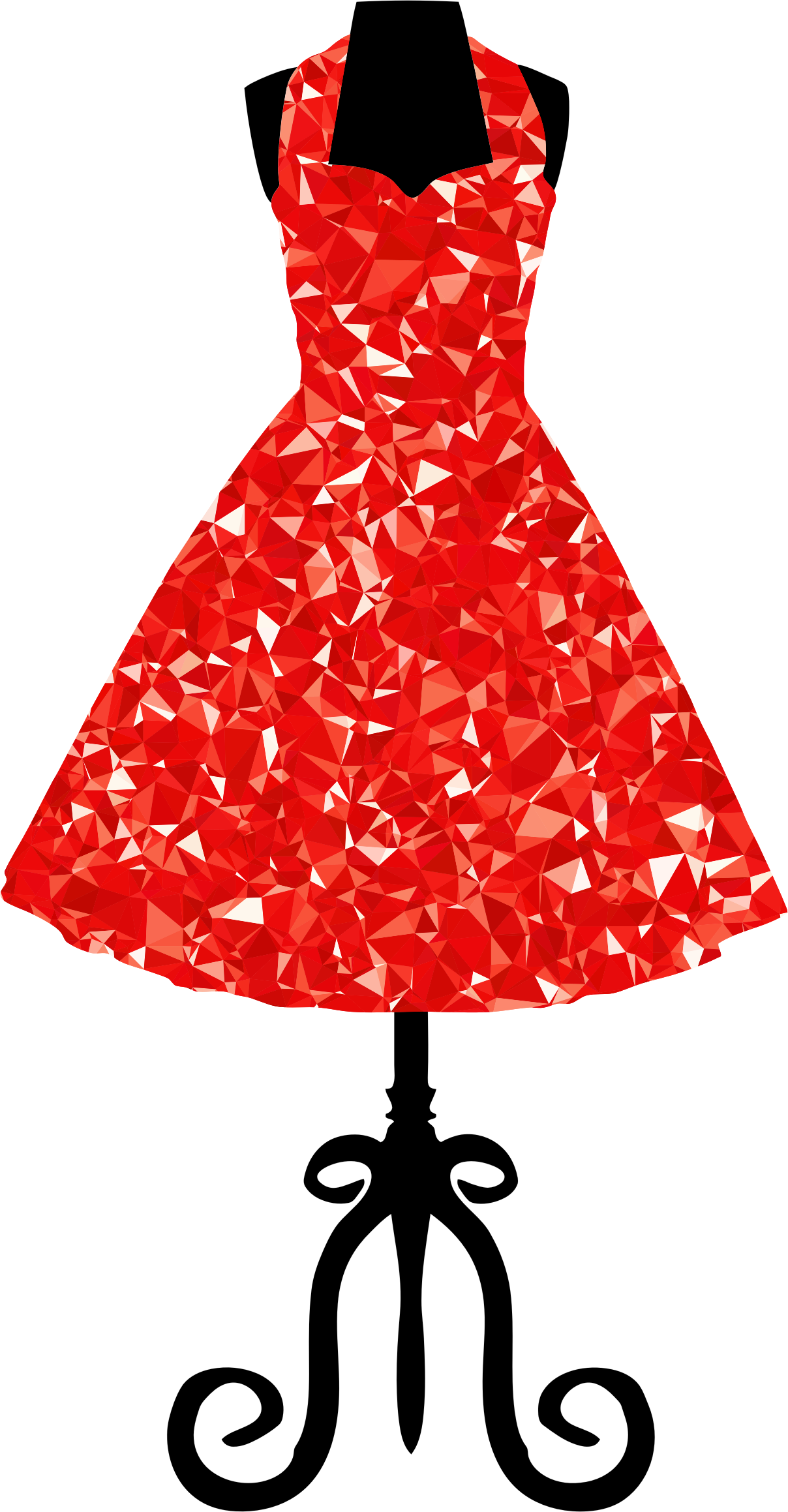 Costume clipart clothing. Ruby s vintage dress