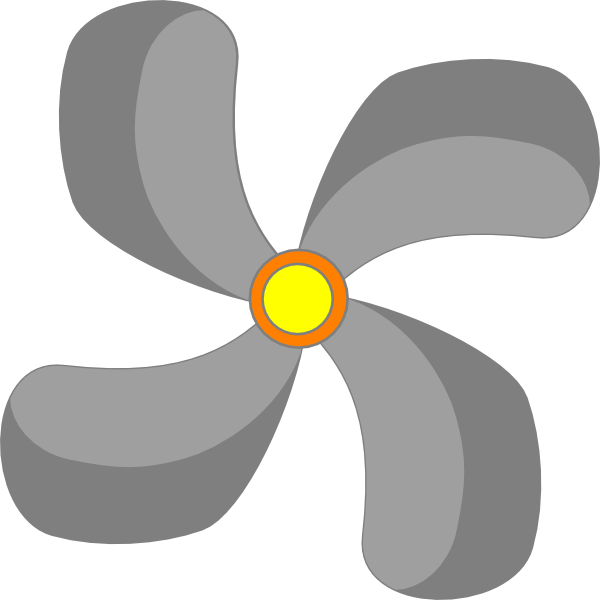Fan new at clker. Iron clipart clip art