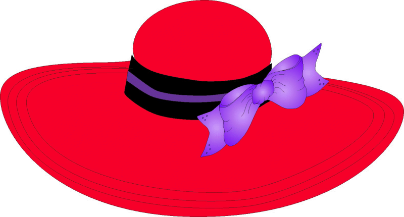 Costume clipart accessory. Red hat society cowboy
