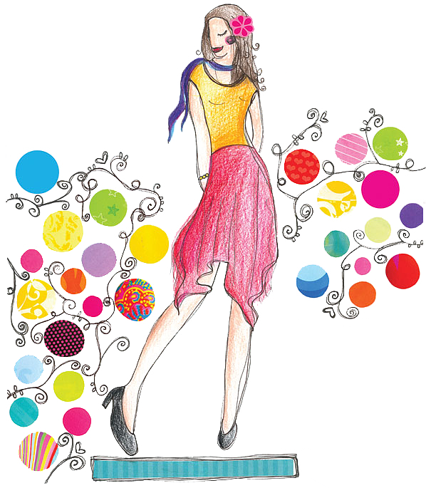Dress clipart spring.  collection of fashion